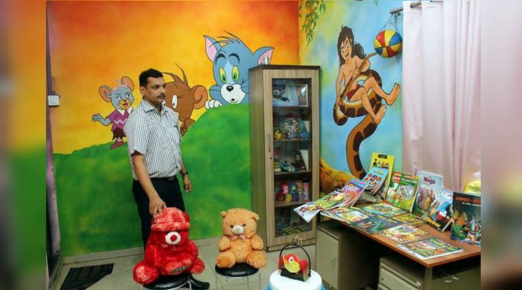 Wagle Estate police station, Thane, Kamgar Colony, Enid Blyton Noddy, Harry Potter, Famous Five, Tom and Jerry, Mowgli, Chhota Bheem, Doraemon, indian express, indian express news