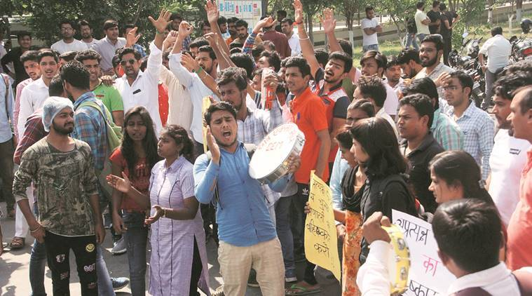Haryana: Polls to student councils held amid protests