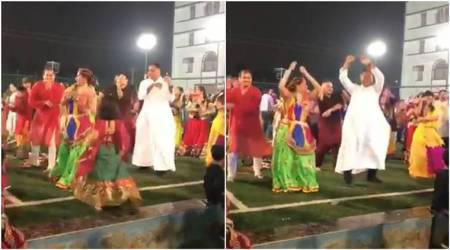 Watch: This pastor's garba moves is going viral for the right reasons