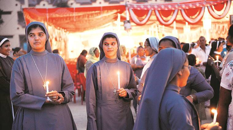 Prayer meet, rosary march for rape accused Mulakkal in Jalandhar