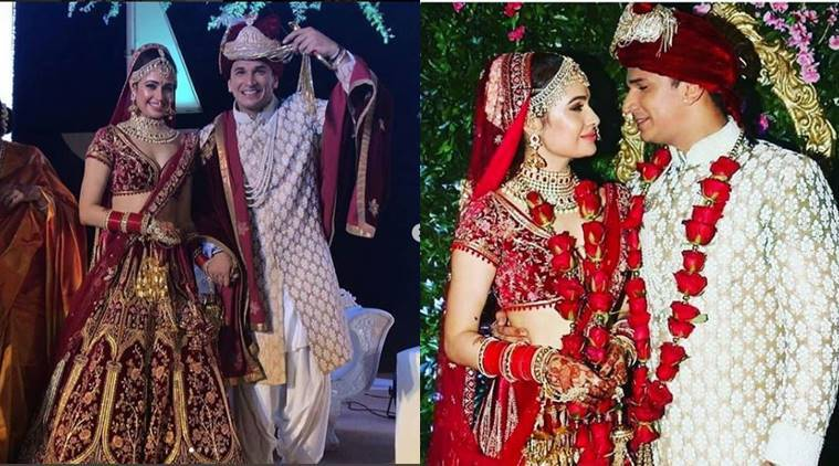 Prince Narula and Yuvika Chaudhary wedding