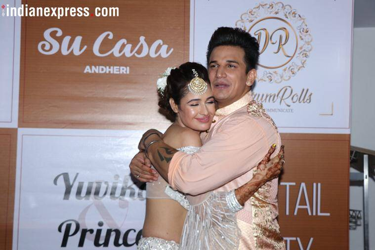 Yuvika Choudhary and Prince Narula photos