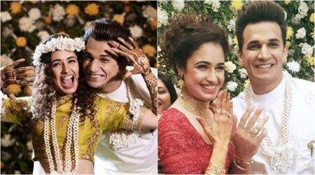prince narula, yuvika chaudhary engagement photos