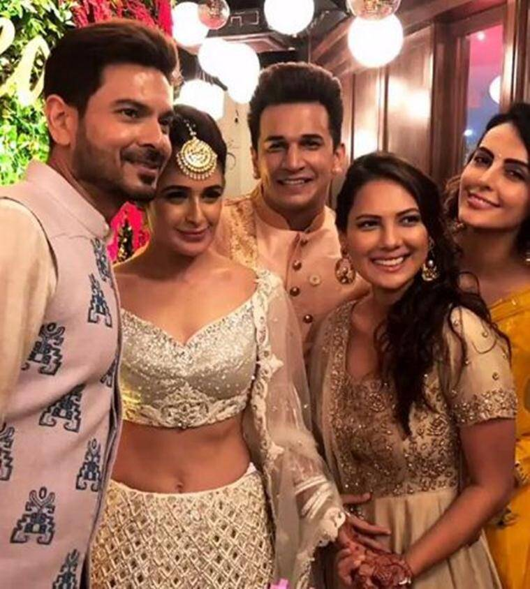 Yuvika Choudhary, prince narula wedding photos