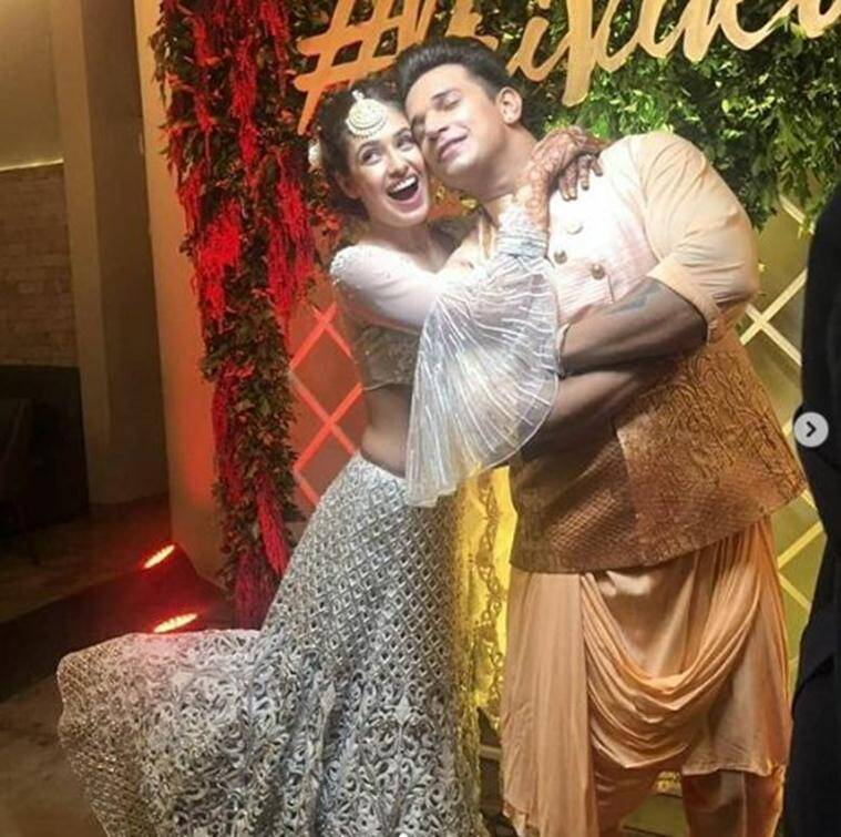 Prince Narula and Yuvika Choudhary marriage