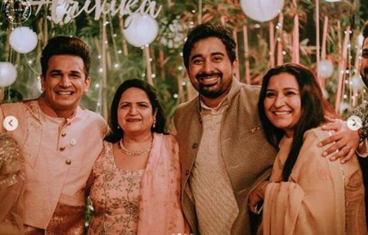 prince narula, yuvika choudhary wedding photos