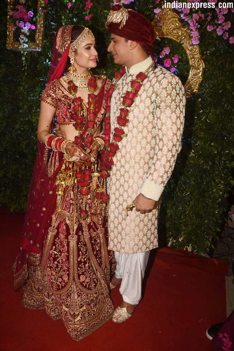 prince narula and yuvika chaudhary photos