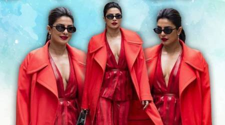 Priyanka Chopra looks ravishing in red; see pics