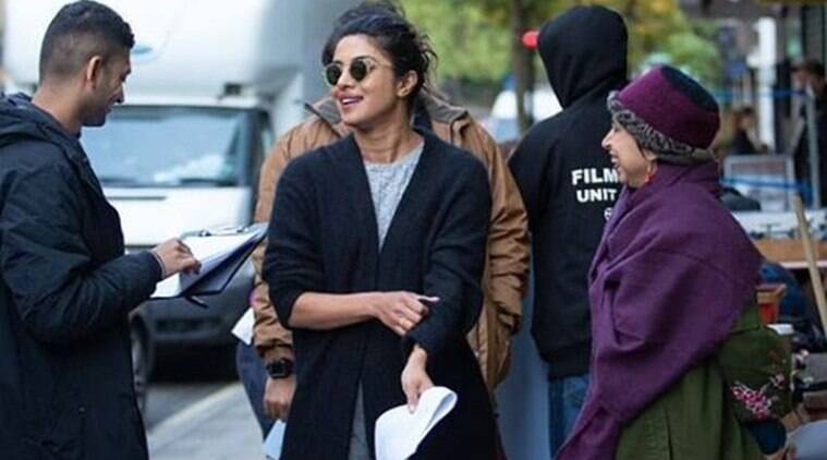 priyanka chopra starts shooting for Bollywood film