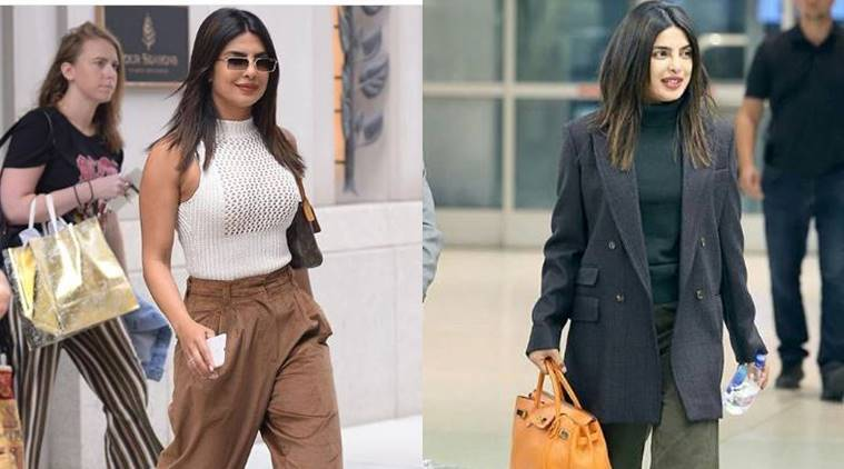priyanka chopra, priyanka chopra pics, priyanka chopra photos, priyanka chopra mustard top, priyanka chopra nyc, priyanka chopra latest look, priyanka chopra airport look, priyanka chopra style file, priyanka chopra street style, indian express, indian express news