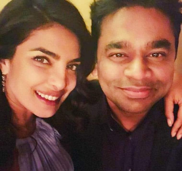 Priyanka Chopra with AR Rahman