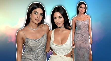 Priyanka Chopra, priyanka chopra kim kardashian, priyanka Chopra latest look, priyanka Chopra latest photo, priyanka chopra instagram, indian express, indian express news