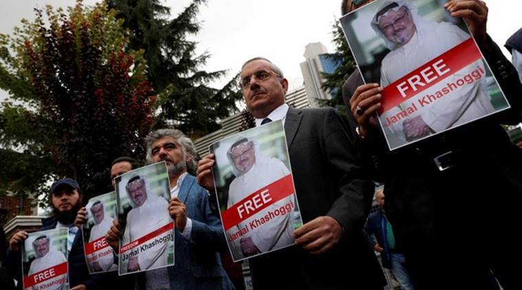 Turkish sources say the authorities have an audio recording purportedly documenting Khashoggi's murder inside the consulate but have not released it.