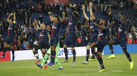 Without Neymar, PSG rout Amiens 5-0