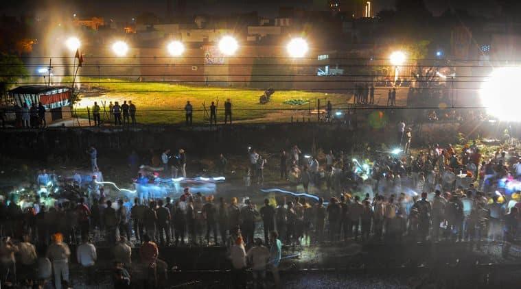 Amritsar train accident death toll