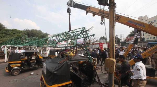 Pune hoarding crash: A day after wife's death, auto driver dies in accident