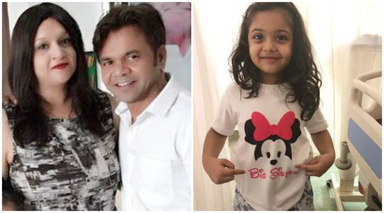 Rajpal Yadav wife Radha Yadav blessed with second daughter