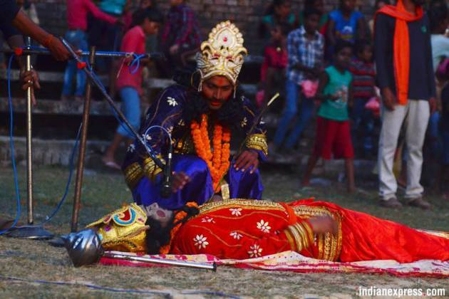 Behind the curtains, what goes into staging a Ramleela