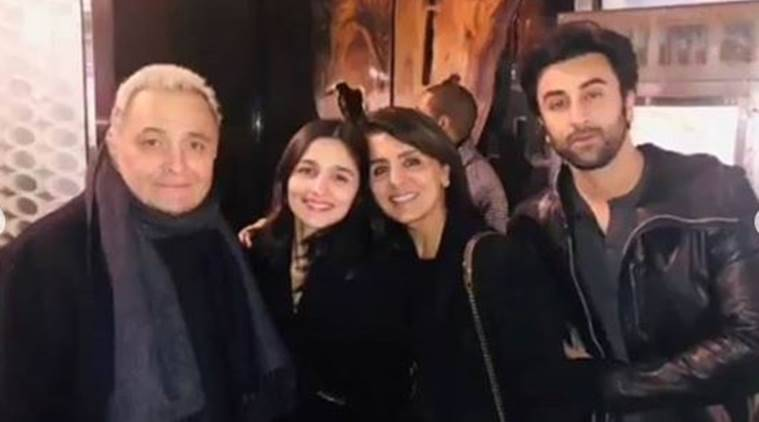 Image result for ranbir kapoor and alia new york