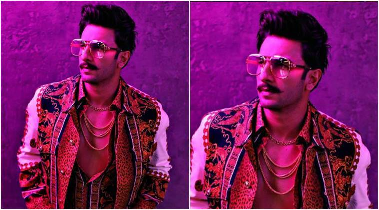 Ranveer Singh, Versace, Ranveer Singh Versace, Ranveer Singh latest photos, Ranveer Singh fashion, Ranveer Singh quirky fashion, Ranveer Singh updates, celeb fashion, bollywood fashion, indian express, indian express news