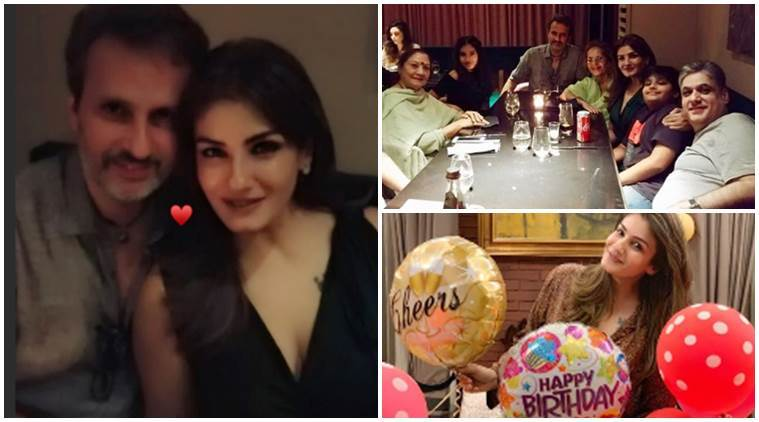 Raveena tandon birthday photos