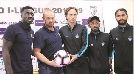 Football, I-league, Minerva Punjab FC,  Real Kashmir FC, Churchill Brothers, Paul Munster, Indian Express