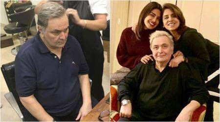 Here is why Rishi Kapoor's hair has suddenly turned grey