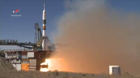 Rocket carrying two astronauts to International Space Station makes emergencylanding