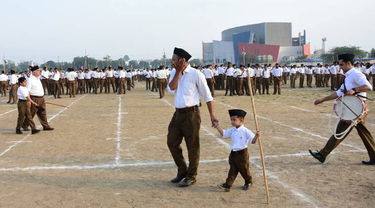Rashtriya Swayamsevak Sangh, RSS, RSS ideology, RSS founder, how to join RSS, Bharatiya Janata Party, BJP, Hindu Rashtra, Indian express