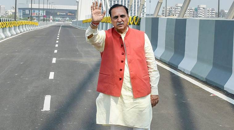 Vijay rupani, Vijay Rupani to visit Delhi, vibrant Gujarat Summit, Gujarat summit, Indian Express