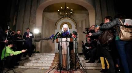 Russian Orthodox Church breaks with Constantinople in row overUkraine