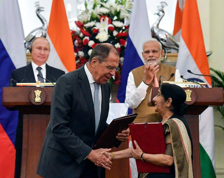 Modi-Putin summit: List of pacts signed between India and Russia