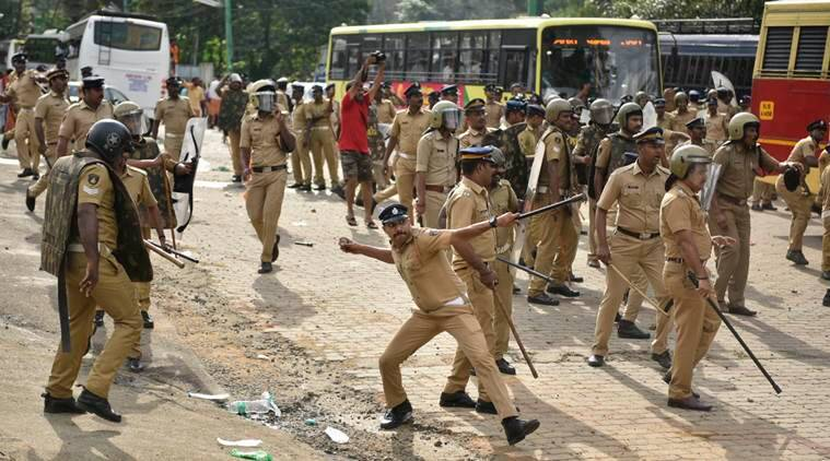Sabarimala protests: Two Right-wing outfits call for a 24-hour hartal