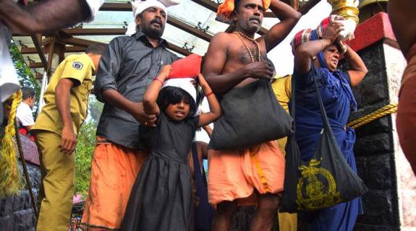 supreme court verdict on women entry into kerala's sabarimala temple