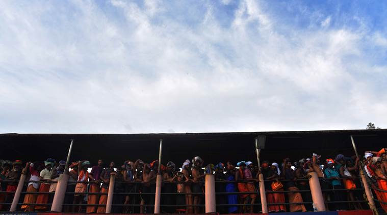 Sabarimala protests: 'Packed our men in a way that no woman can enter shrine'