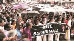 Sabarimala opens tomorrow: Kerala CM proposes entry of women on designated days, Oppn disagrees