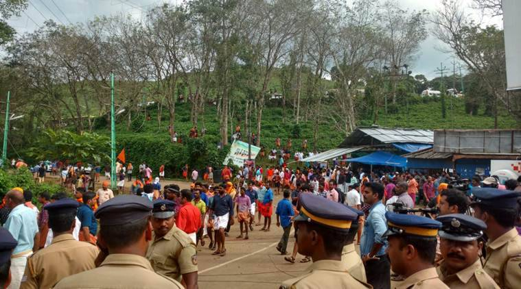 Journalists attacked, media vans vandalised: How Nilakkal, the Sabarimala base camp, descended into chaos
