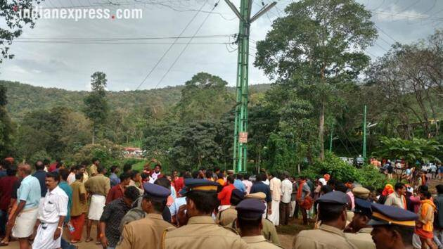 Tension prevails in Kerala as Sabarimala temple opens for women today