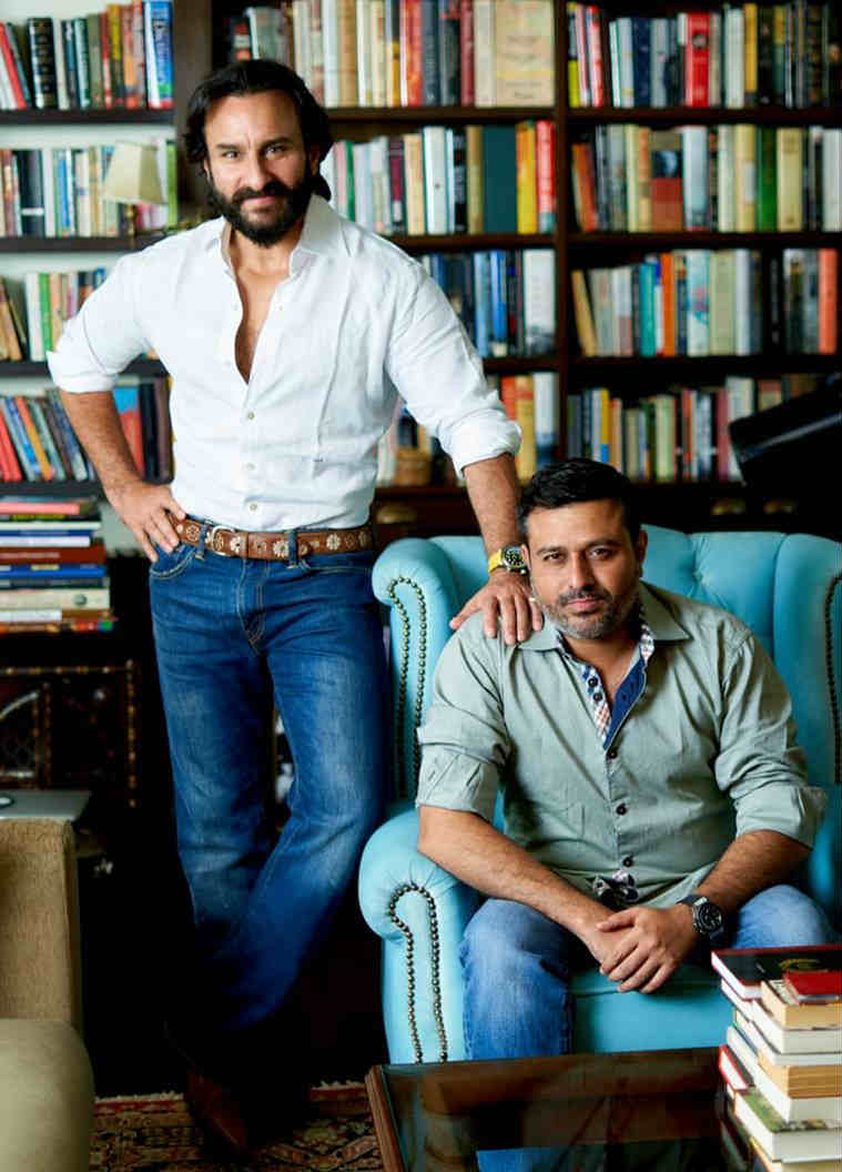 saif ali khan and Jay Shewakramani