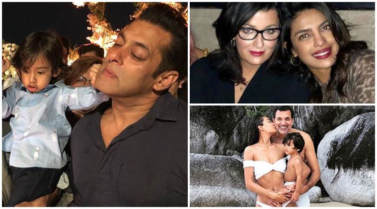 Salman Khan, Priyanka Chopra, Lisa Haydon social media photos