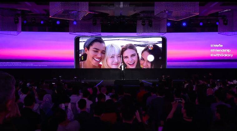Samsung Galaxy A9 launches with four rear cameras