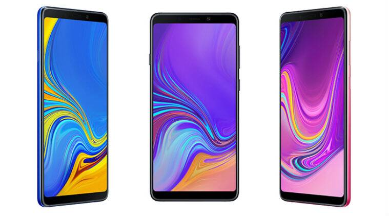Image result for Samsung Galaxy A9 (2018) India Launch Tipped to Be This Month, Features 4 Rear Cameras