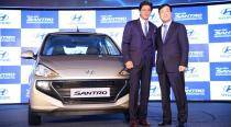 Hyundai launches 'the all-new Santro' in India at Rs 3.89 lakh