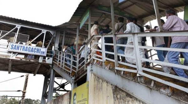 Santragachi FOB stampede: 'We couldn't breathe'