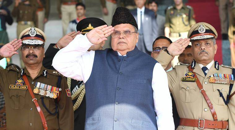 JK Governor rushed to Delhi on account of ill health: Raj Bhawan