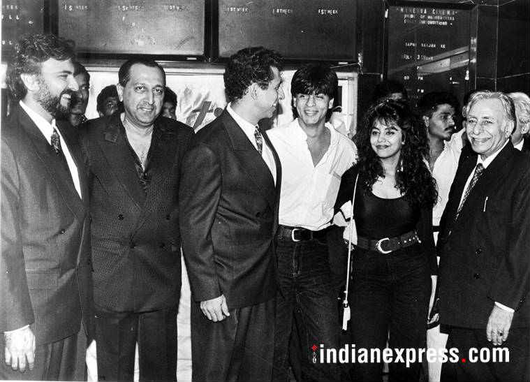 shah rukh gauri old bollywood parties