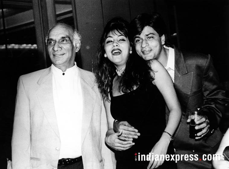 shah rukh gauri yash chopra photos