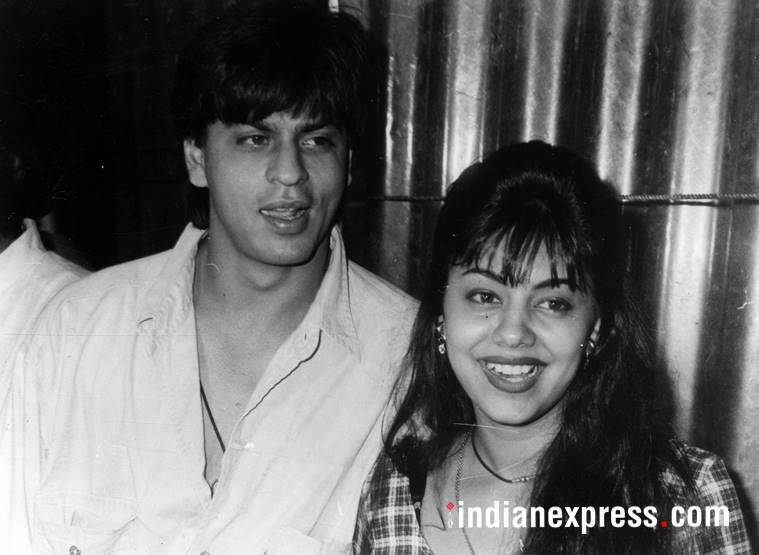 srk gauri throwback photos