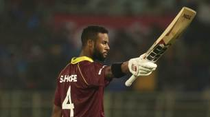 Shai Hope's unbeaten 146 leads West Indies to level ODI series