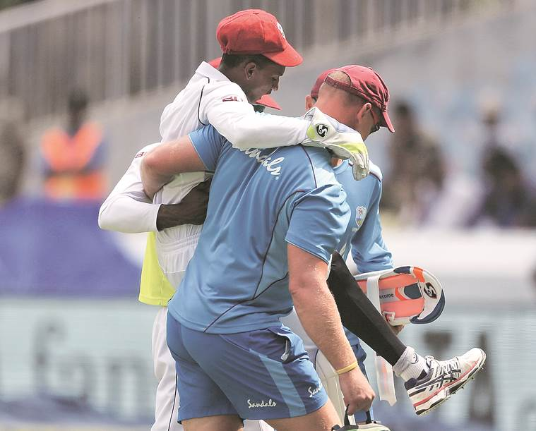 India vs West Indies, 2nd Test, Day 3: Windies 76/6 at Tea